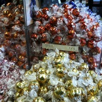 Photo taken at Lindt Factory Outlet by Kimberly S. on 10/11/2012