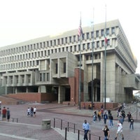 Photo taken at Boston City Hall by Paul H. on 10/20/2012