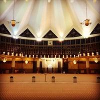 Photo taken at Masjid Negara (National Mosque) by Jeff K. on 7/1/2013