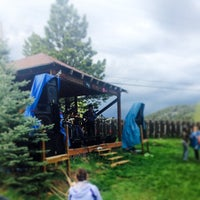 Photo taken at Gold Hill Inn by Aaron F. on 5/26/2014