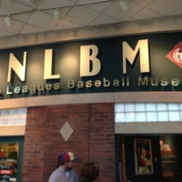 Photo taken at Negro Leagues Baseball Museum by Chad M. on 7/13/2013