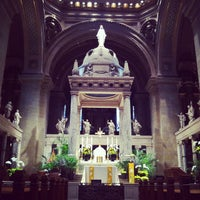Photo taken at Basilica of Saint Mary by Jonathan W. on 4/30/2013