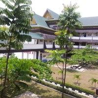 Photo taken at Universitas Lancang Kuning by M F on 9/25/2013
