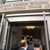 Photo taken at Ronald Reagan Building & International Trade Center by Fahad M. on 10/6/2016