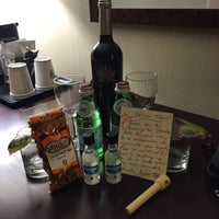 Photo taken at Sheraton Hotel Bar by Travis H. on 5/20/2015