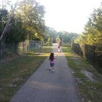 Photo taken at Joe's Creek Greenway Park by Stan J. on 10/10/2012