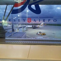 Photo taken at Jersey Airport (JER) by Dimi P. on 10/29/2012