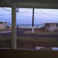 Photo taken at Nimitz Beach Cottages by Matthew M. on 5/2/2014