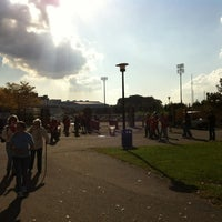 Photo taken at Kenneth P. LaValle Stadium by Kristen K. on 10/20/2012