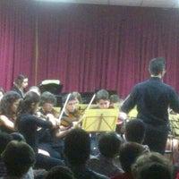 Photo taken at Conservatorio elemental de Música Triana by Juan Ramón S. on 5/10/2013