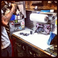 Photo taken at ChiTown Tattoo & Body Piercing Co. by @_katrinab on 10/18/2012