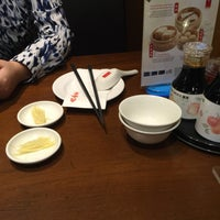 Photo taken at Din Tai Fung 鼎泰豐 by Nathan N. on 8/1/2016