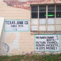 Photo taken at Texas Junk Co. by Aaron W. on 4/16/2016