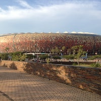 Photo taken at FNB Stadium by Nic A. on 11/10/2012