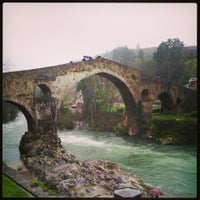 Photo taken at Cangas de Onís by Carlos G. on 3/29/2013