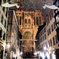 Photo taken at Place de l'Homme de Fer by Stefano V. on 11/25/2012