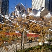Photo taken at Jay Pritzker Pavilion by Bruna R. on 10/21/2012