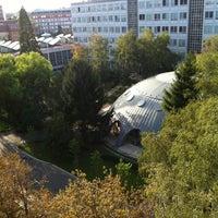 Photo taken at BME R épület by #Ingyen R. on 10/4/2012