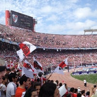 Photo taken at Estadio Monumental (River Plate) by Emiliano C. on 10/28/2012