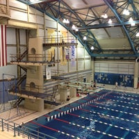 Photo taken at Nassau County Aquatic Center by Rutger P. on 5/1/2013