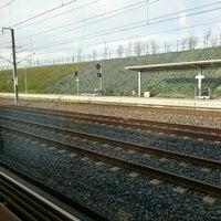 Photo taken at Gare SNCF de Lorraine TGV by Shinsuke N. on 12/25/2015