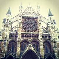 Photo taken at Westminster Abbey by Katty J. on 3/26/2013