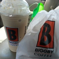 Photo taken at BIGGBY COFFEE by Amanda C. on 6/20/2013