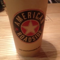 Photo taken at American Roadside Burgers by Chris W. on 11/1/2013