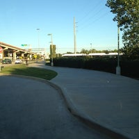 Photo taken at Bush Turnpike Station (DART Rail) by Terrence S. on 10/8/2012