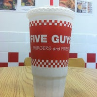 Photo taken at Five Guys by Haylee A. on 10/9/2012