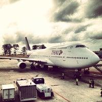 Photo taken at Phuket International Airport (HKT) by Jetniphit B. on 7/18/2013