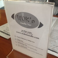 Photo taken at Wok'n Noodle by Bruce G. on 10/9/2012