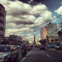 Photo taken at Tomas Morato Avenue by jun n. on 11/23/2012