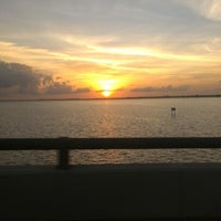 Photo taken at Caloosahatchee Bridge by Jenneffer P. on 1/2/2013