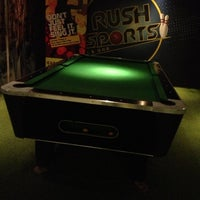 Photo taken at Rush Sports Cafe & Bar by Samuel J. on 11/10/2012