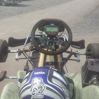 Photo taken at Karting des Fagnes by Sam S. on 5/25/2014