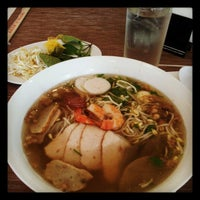 Photo taken at Pho Bac by Carla Excella P. on 10/15/2012