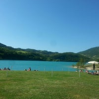 Photo taken at Lago di Fiastra by Maaike 🙊 on 7/1/2015