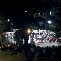 Photo taken at Plaza Gomensoro by Giovanna R. on 3/7/2013