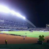 Photo taken at Estadio Nacional by Diego C. on 1/10/2013