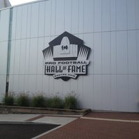 Photo taken at Pro Football Hall of Fame by Clayton W. on 10/17/2012