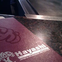 Photo taken at Hayashi Japanese Steakhouse and Sushi Bar by Giovanni M. on 10/11/2012