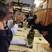 Photo taken at Hostaria Lo Sgobbone by Umberto N. on 11/12/2012