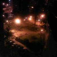 Photo taken at Plaza Gomensoro by Jonathan V. on 10/11/2012