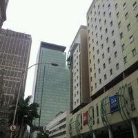 Photo taken at ibis Budget Hotel by Veron C. on 11/28/2012