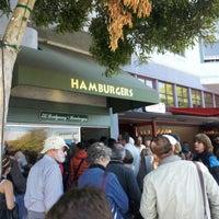 Photo taken at Hamburgers by Brad K. on 9/27/2012