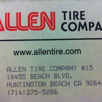 Photo taken at Allen Tire Company by Curt E. on 10/11/2012
