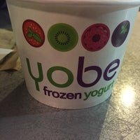 Photo taken at Yobe Frozen Yogurt by Tracey M. on 11/30/2014