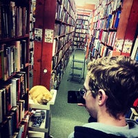 Photo taken at Downtown Books by Ian D. on 3/19/2014