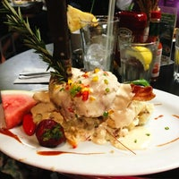 Photo taken at Hash House A Go Go at The LINQ by Lisa T. on 5/26/2013